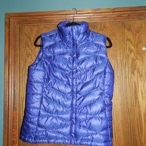 Women's North Face Purple Down Vest